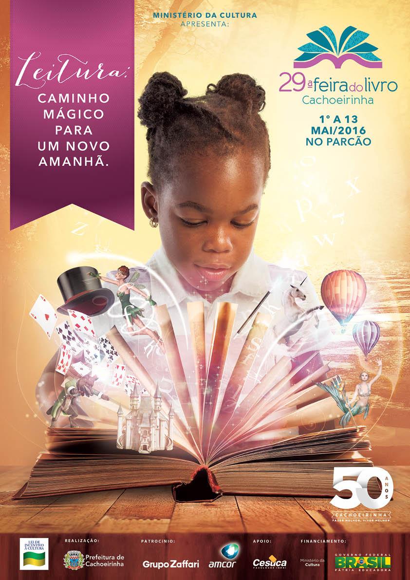 2016-05-03 Feira do Livro acontece em Cachoeirinha