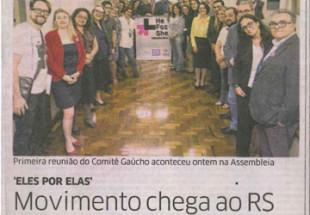 Moove participa de reunião do Comitê Gaúcho do movimento HeForShe
