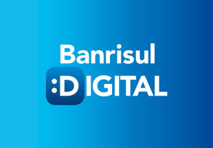 Slogan Clique e simplifique marca ação digital da Moove para o Banrisul