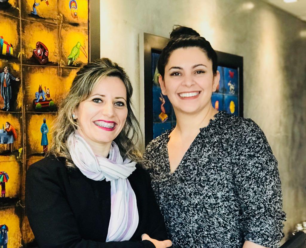 Ainda Franciscoli (dir) e Luana Rodrigues (Esq) , agora fazem parte do quadro de sócios da Moove, além de Denise Milão.