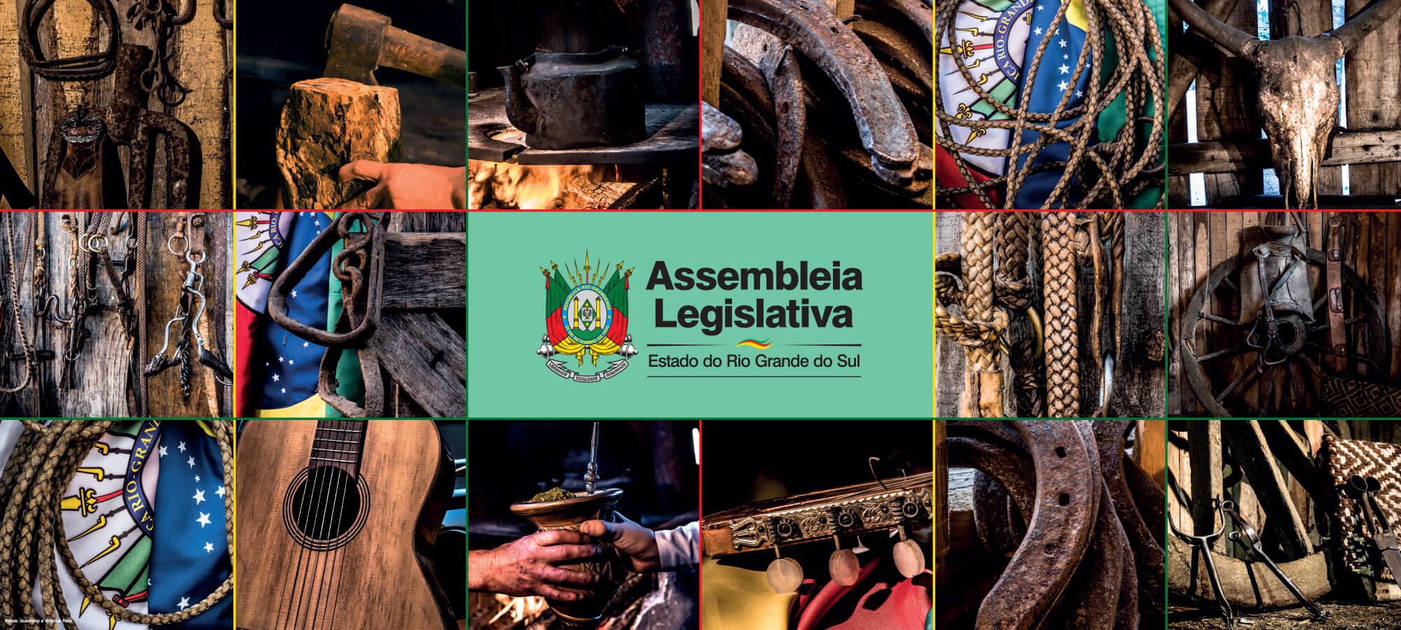 Material produzido para a Casa da Assembleia Legislativa, na Expointer.